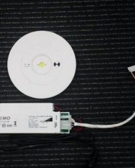 3W LED EMERGENCY ROUND SPITFIRE DOWNLIGHT