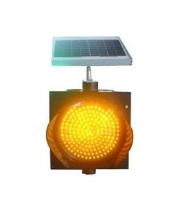 200MM SOLAR LED TRAFFIC FLASH LIGHT