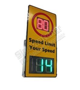 Doppler Radar Speed Sign with Speed Limit