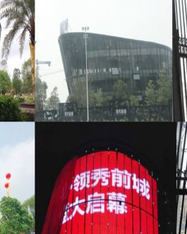 P16 louver led screen