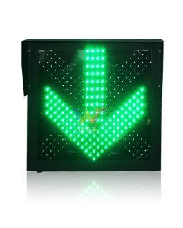 600mm Red Cross Green Arrow Pixel Cluster in One Unit Traffic Light