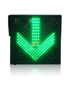 600mm Red Cross Green Arrow Pixel Cluster in One Unit Traffic Light