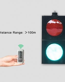200mm Wireless Remote Controlled Traffic Light