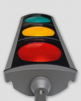 Diameter 210mm Aluminum LED Traffic Signals
